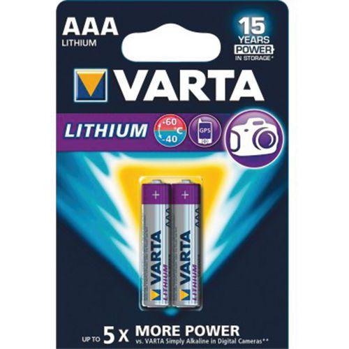 Lithiumbatterij VARTA 6103301402 FR03 / AAA
