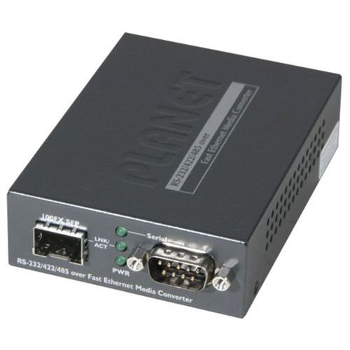 Planet server serie RS232/422/485 naar IP VEZEL SFP 100FX