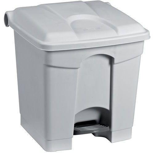 Afvalbak Keuken Vierkant : Manutan afvalemmer kunststof, totale inhoud: 30 l, hoogte: 43.5 cm