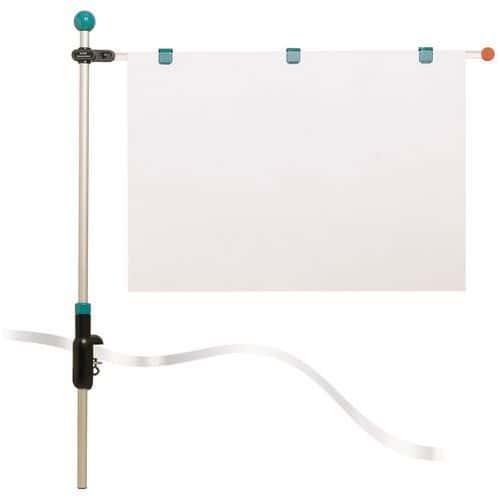 Presentatiesysteem Hebel - Tafelhouder voor documenten
