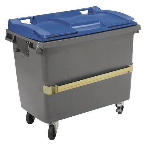 Mobiele container Plastic Omnium - Afvalscheiding - 770l