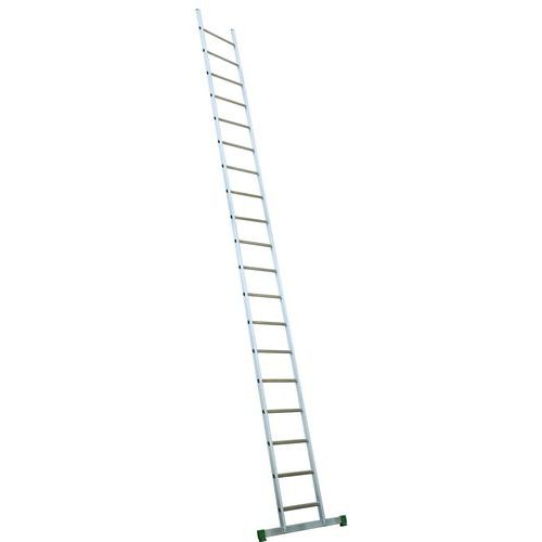 Aluminium ladder met stabilisatiestang