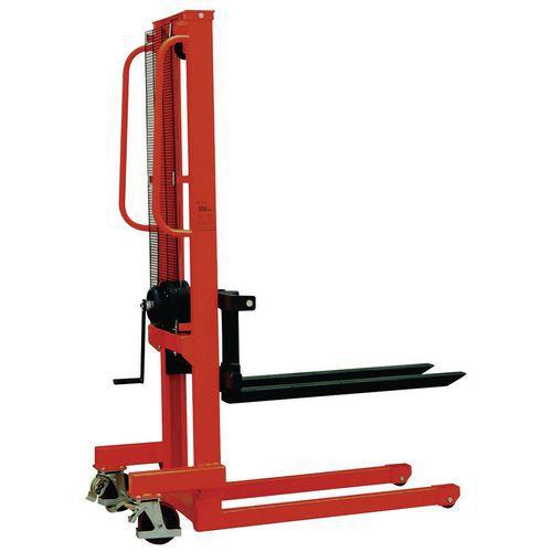 Handstapelaar - Vorklengte 1000 mm - Draagvermogen 500 kg