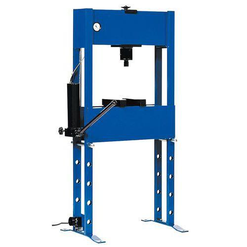 Standaard hydraulische pers - 16 en 20 ton : Manutan