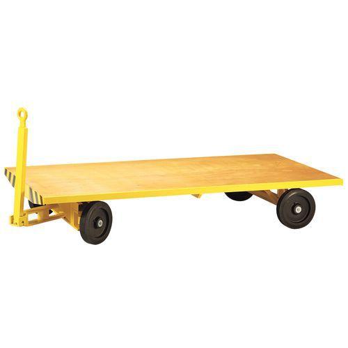 Aanhangwagen met enkel plateau - Laadvermogen 5000 kg - Plateau 1250 x 2520 mm