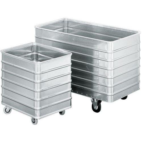 Aluminium bakwagen