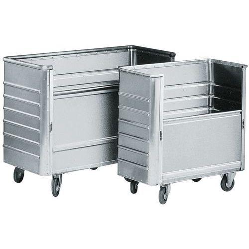 Aluminium bakwagen met schuifpaneel