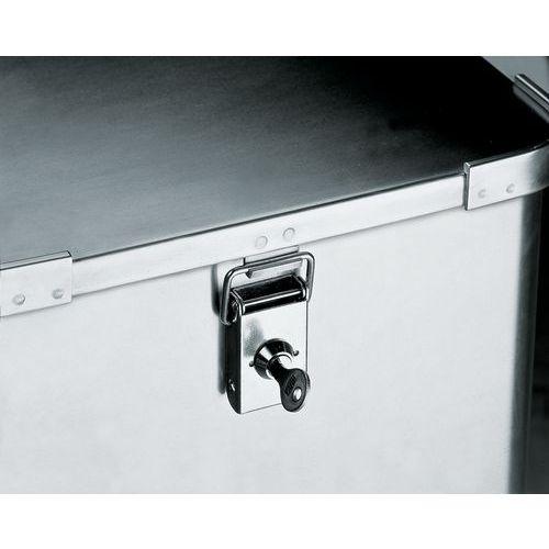 Cilinderslot voor aluminium bakwagen met deksel
