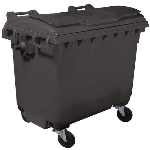 Afvalcontainer - 660l - 770l - 1100l - Manutan
