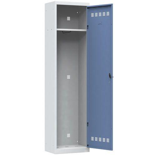 Garderobekast verschillende diensten - 1 kolom - Breedte 500mm - Vinco