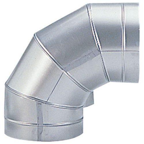 Afbeelding van Bocht van 90° voor stevige ventilatiekanalen - Ø 160 tot 315 mm