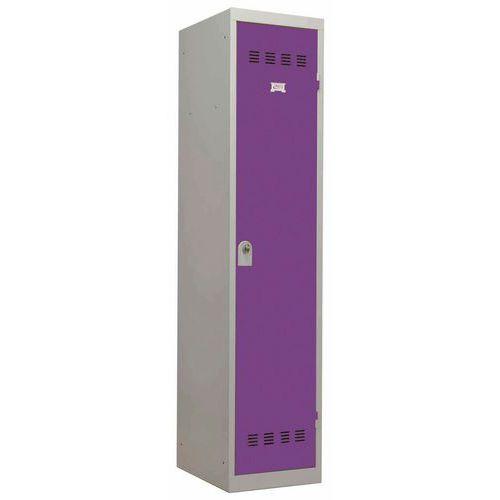 Garderobekast zware industrie - 1 kolom - Breedte 400mm - Vinco