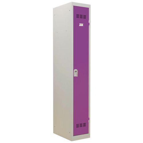 Garderobekast lichte industrie - Breedte 300 mm - 1 kolom - Vinco