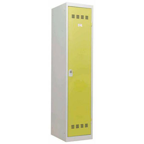 Garderobekast zware industrie - 1 kolom - Breedte 400mm