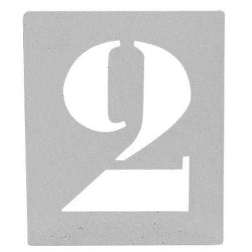sjabloon 50 jaar Sjabloon in aluminium   Set van 26 alfabetische letters | Manuta sjabloon 50 jaar