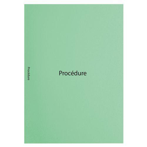 Inlegmap bedrukte 22x31cm ''procedure'' jura 160 Exacompta