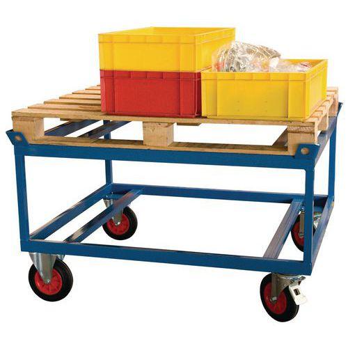 Rolwagen hoog voor zware last - Draagvermogen 500 en 1000kg