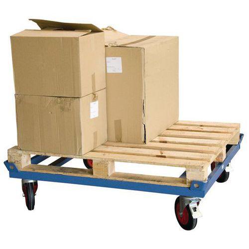 Rolwagen laag voor zware last - Draagvermogen 500 en 1000kg