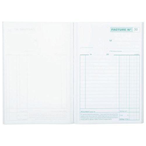 Factuur doorschrijfpapier 21x14,8cm 50 zelfkopiërend triple