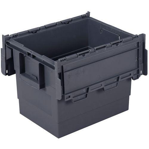 Transportbak Integra®  - Lengte 600 mm - Grijs