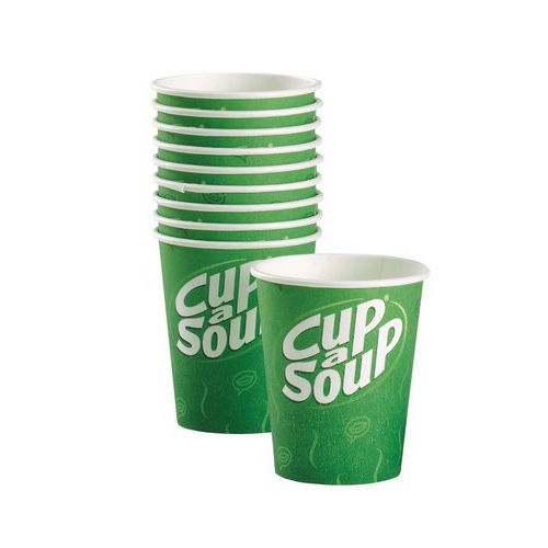 Goede Bestel kartonnen beker Cup-a-Soup van 14 cl bij Manutan UG-42