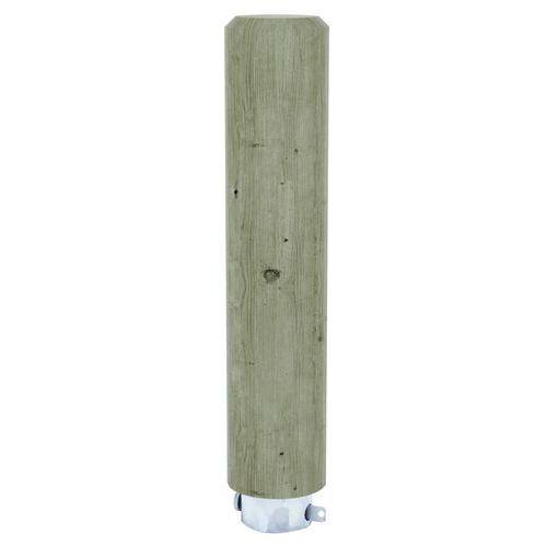 Ronde paal van naaldhout - Verwijderbaar