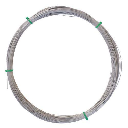 Kabel van roestvast staal - 50 meter