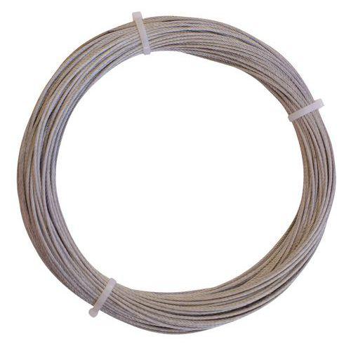 Kabel van gegalvaniseerd staal - 50 meter
