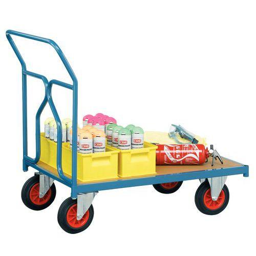 Plateauwagen - Draagvermogen 500 kg - 1 rug