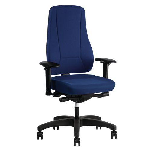 Bureaustoel Met Verstelbare Rugleuning.Ergonomische Bureaustoel Kopen Voor De Juiste Zithouding Manutan