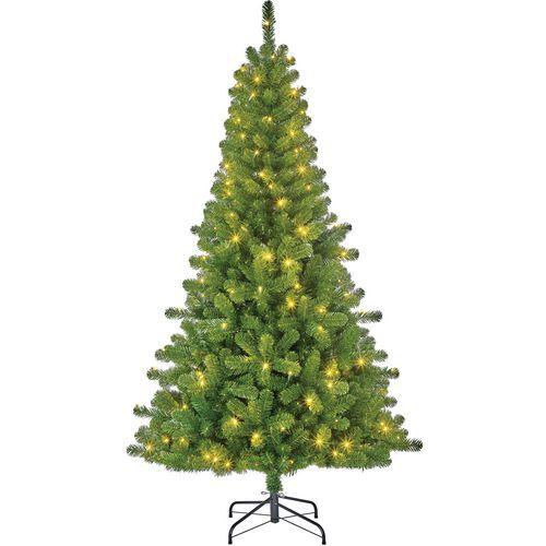 Kerstboom Charlton kunststof met verlichting