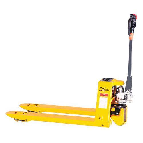 Semi-elektrische pallettruck - draagvermogen 1500 kg