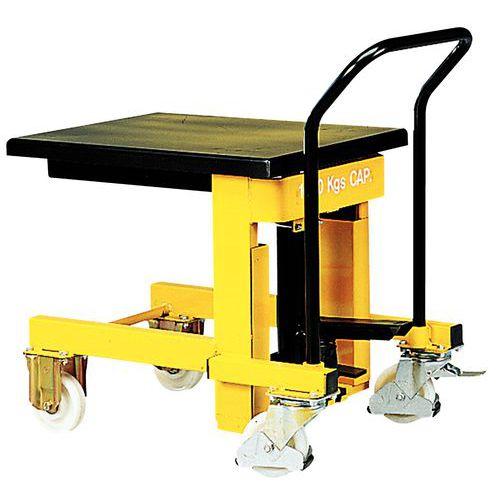 Afbeelding van Hydraulische mobiele heftafel - Hefvermogen 1 000 kg