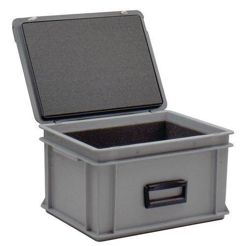 Rako-gereedschapskoffer met klep - Schuimrubber aan binnenzijde - Lengte 600 mm
