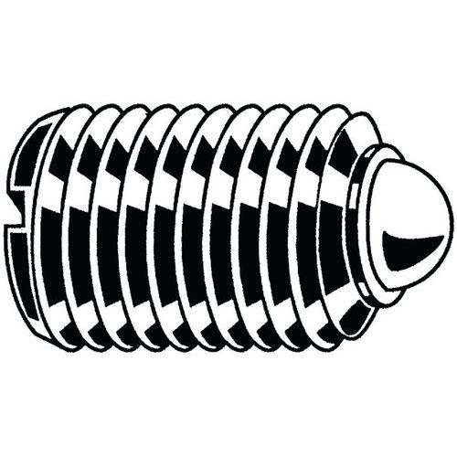 Drukstuk verend met kogel en zaaggleuf Automatenstaal_56950