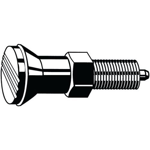 Indexbout zonder vergrendelgleuf nylon/Staal 6 _56952