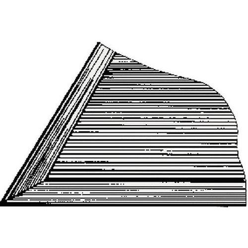 Rand voor mat - PVC
