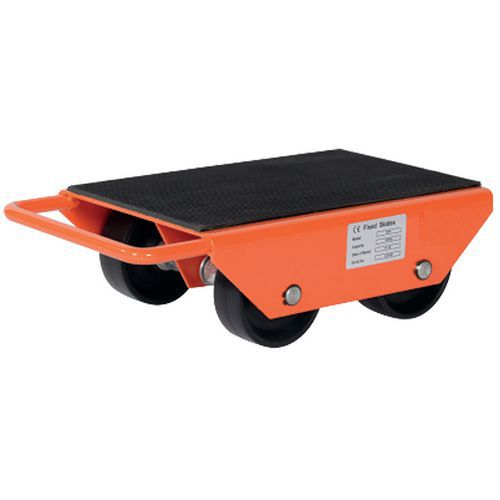 Roller met vaste rollen - Draagvermogen 1000 tot 6000 kg