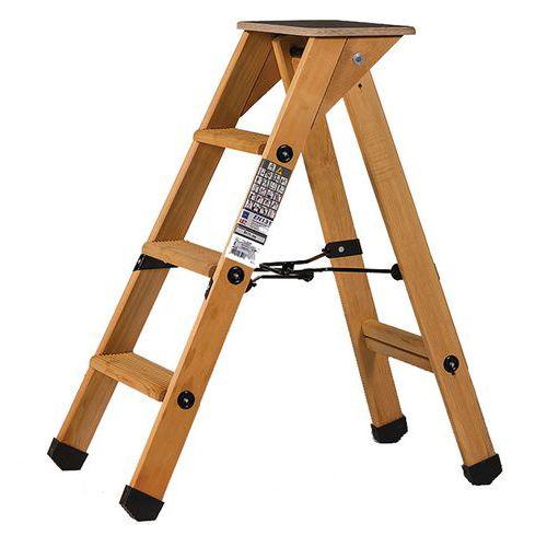 Professionele trap van hout - Centaure