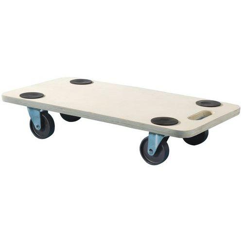 Houten rolplateau - Draagvermogen 200 kg - Mottez