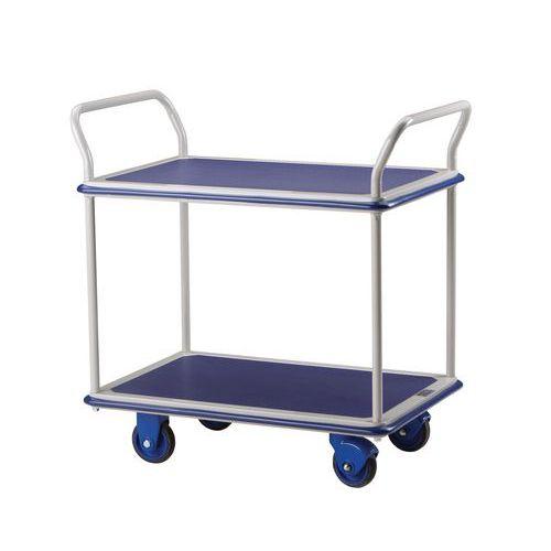 Etagewagen - 2 legborden - Draagvermogen 300 kg