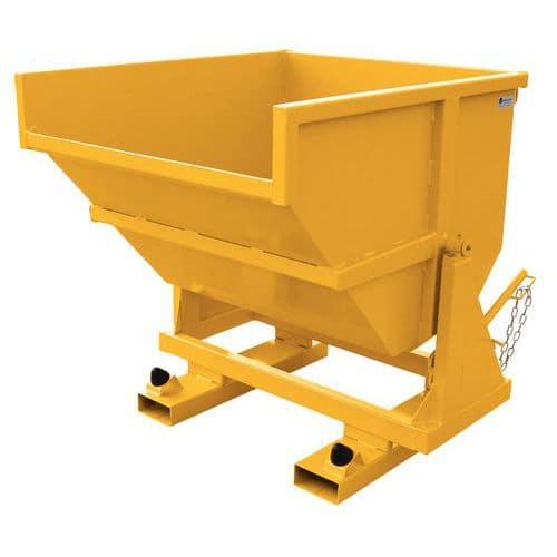Versterkte container - INP - Op sokkel - 550 en 750 L