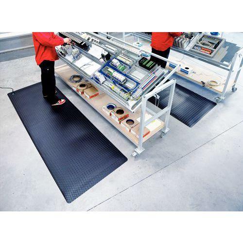 Antistatische en ergonomische antivermoeidheidsmat - In tapijtvorm