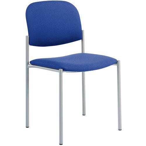 Stoel luca aluminium structuur manutan - Comfortabele stoel ...