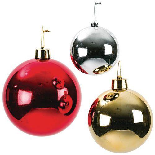 Decoratie kerstballen onbreekbaar gemakkelijk en snel bestellen | Manutan