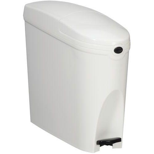 Plastic pedaalemmer 20L voor dameshygiëne Rossignol