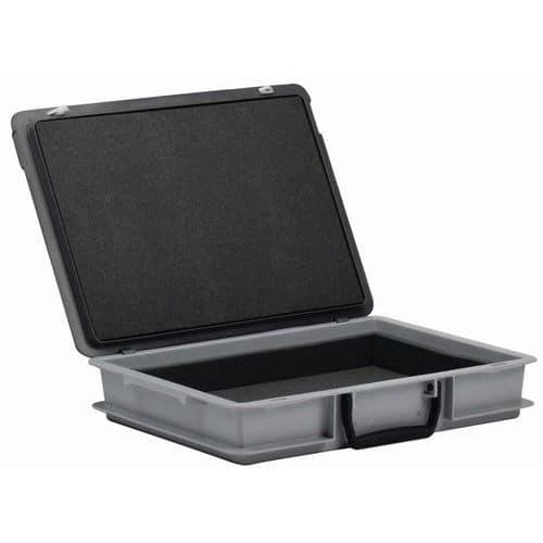 Rako-gereedschapskoffer met klep - Schuimrubber aan binnenzijde - Lengte 400 mm