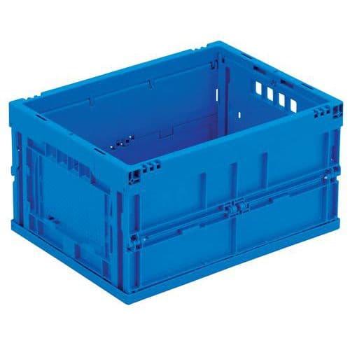 Vouwkrat blauw - 22 tot 40 L