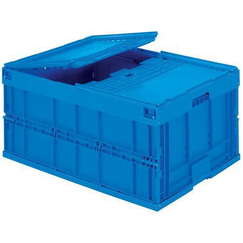 Vouwkrat blauw - 200 L
