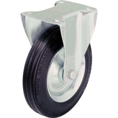 Bokwiel met grondplaat - Draagvermogen 50 tot 295 kg